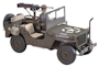 Military Vehicle Plastic Models