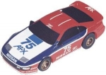 Nissan 300ZX body #57 rd/wh/bl (Slot Cars)