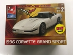 AMT - AMT31815CL - Clearance - Old Corvette 1/25 Model - 1996 Chevrolet Corvette Grand Sport (model)