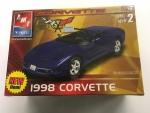 AMT - AMT31816CL - Clearance - Old Corvette 1/25 Model - 1998 Chevrolet Corvette (model)