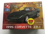 AMT - AMT31827CL - Clearance - Old Corvette 1/25 Model - 1995 Chevrolet Corvette ZR-I (model)