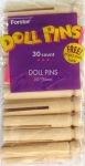 Forster - FOR1285 - Doll Pins (30/Bag) (craft supplies)