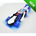 Hi Speed - HSP1049B - BRM F1 Retro Painted Body .010 (slot car)