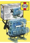 "Haynes - Visible Working Internal Combustion Engine w/Electric Motor & Sound (7"" h x 10.6"" w x 5.5"" d) (Plastic Models)"
