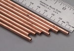 "K & S -  Round Copper Tube 5/32x36"" (8) (Metal Tubing) K+SR9509"