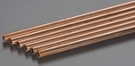 "K & S -  Round Copper Tube 7/32x36"" (6) (Metal Tubing) K+SR9513"