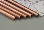 "K & S -  Round Copper Tube 1/4x36"" (5) (Metal Tubing) K+SR9515"