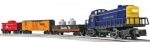 Lionel - LNLU0207 - Santa Fe RS-3 Remote Scout O-Scale Freight Set - With the Scout fun is never hard to find  (Train)